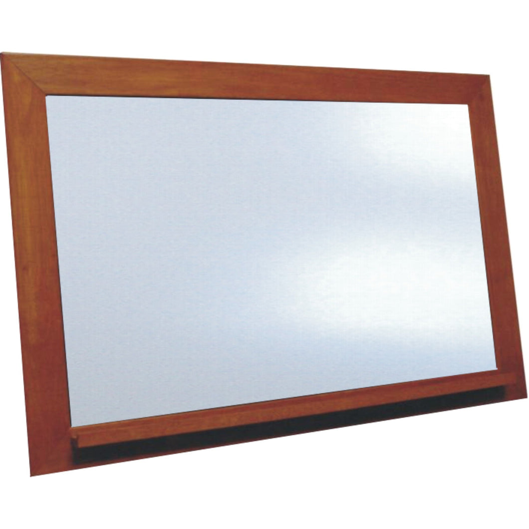 Classic Schoolhouse White Dry Erase Board - Vintage Cherry  Frame