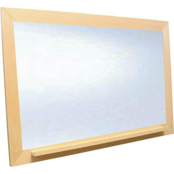 White Dry Erase Board with Unfinished Frames