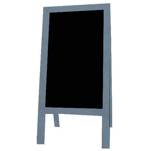 Little Peddler Chalkboard Easel - Blue - With Legs - Tall Orientation