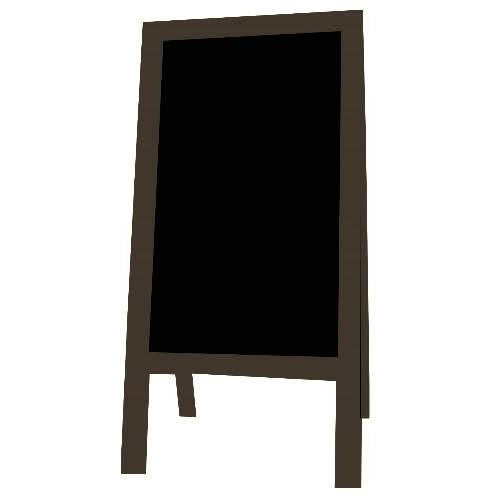 Little Peddler Chalkboard Easel - Bronze - With Legs - Tall Orientation
