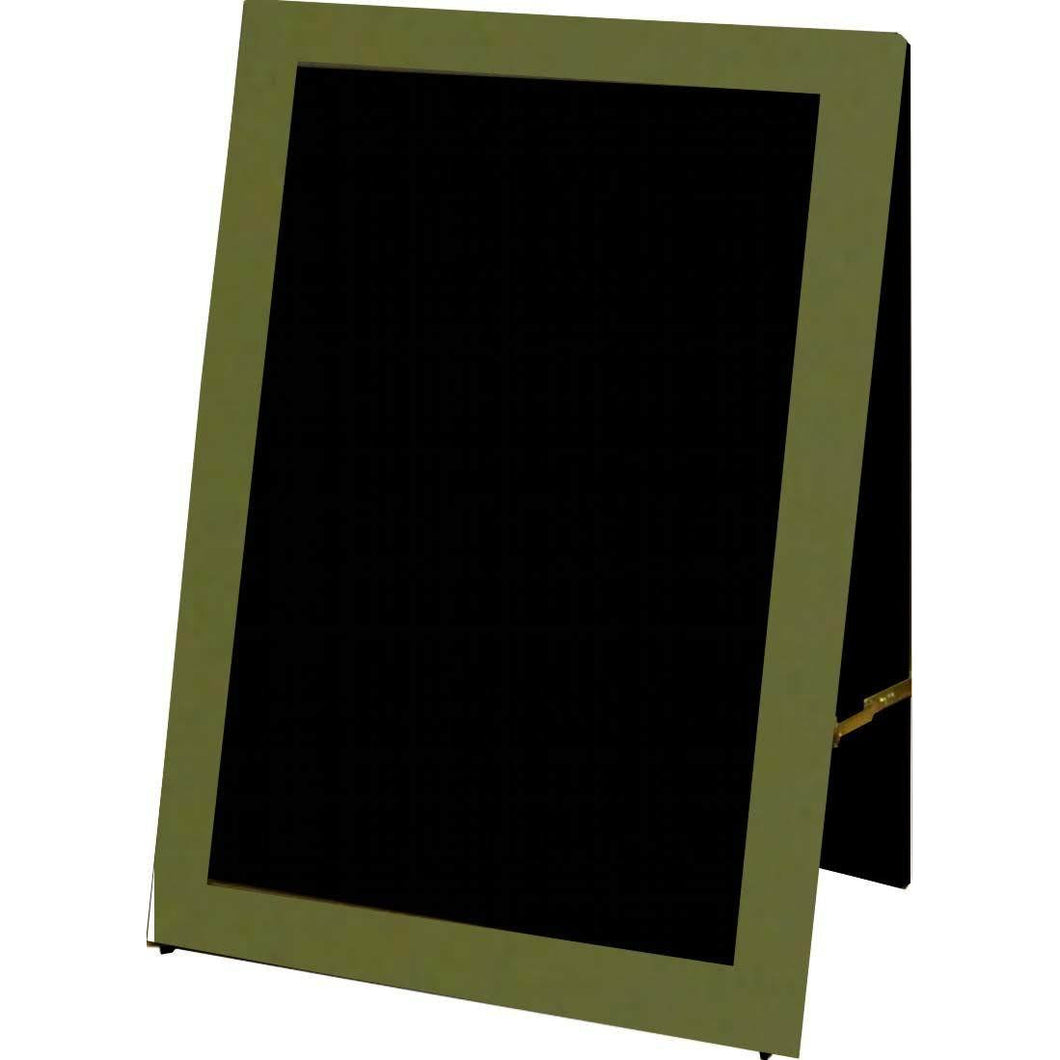 Outdoor Little Peddler Chalkboard Easel - Spanish Olive
