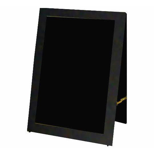 Outdoor Little Peddler Chalkboard Easel - Black