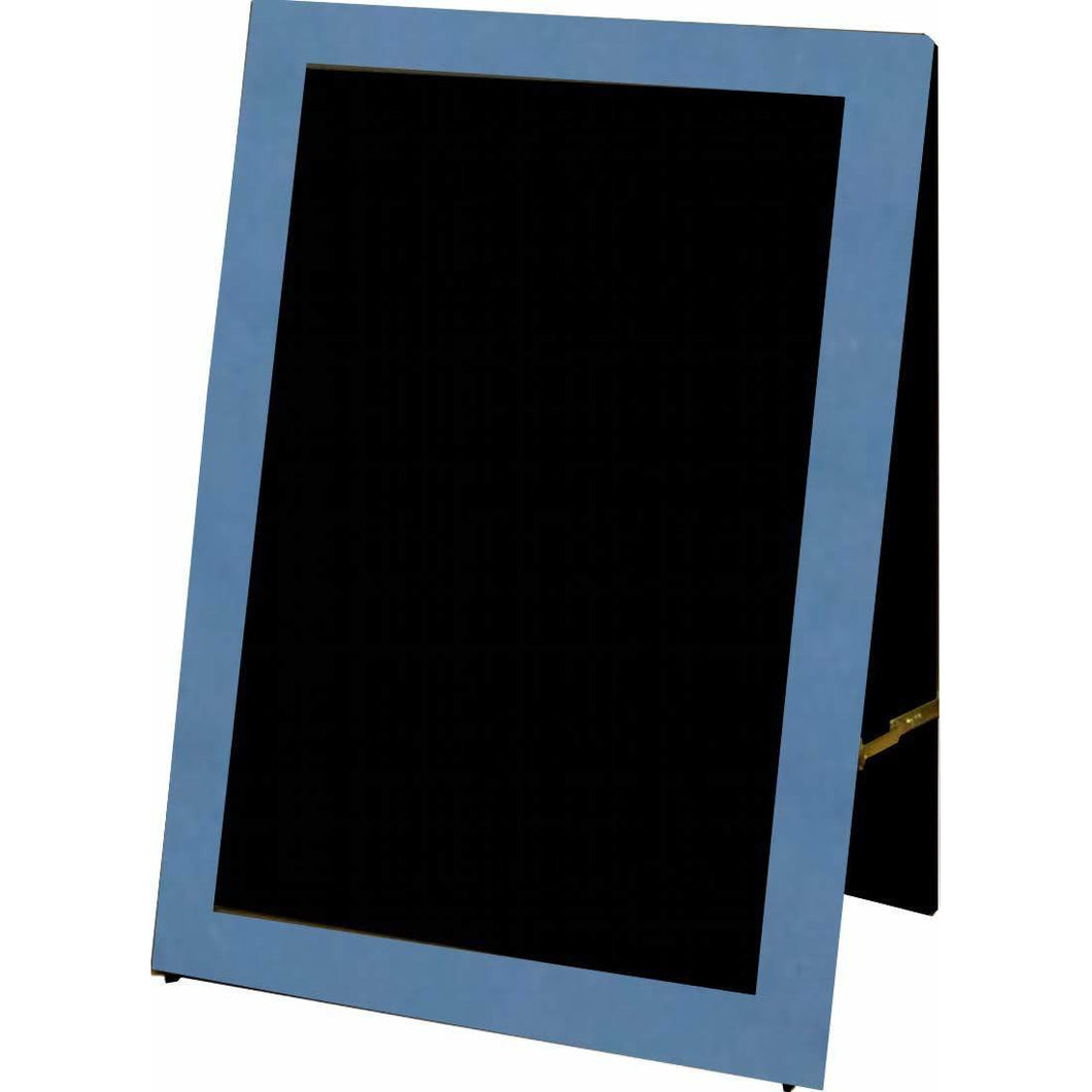 Outdoor Little Peddler Chalkboard Easel - Blue