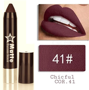 Miss Rose Matte Lip Batom Crayon