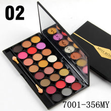 Load image into Gallery viewer, Miss Rose 24 Color Velvet + Matte Eyeshadow Palette