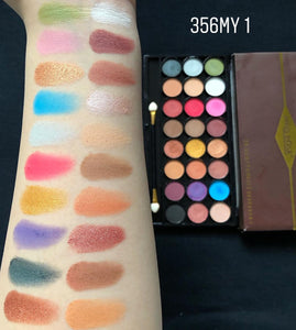 Miss Rose 24 Color Velvet + Matte Eyeshadow Palette
