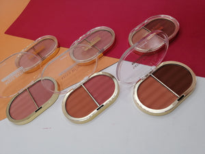 Miss Rose 2 in 1 Blush On (Gold Packing)