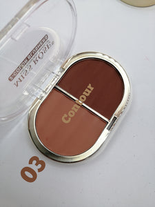 Miss Rose 2 in 1 Blush Contour 03