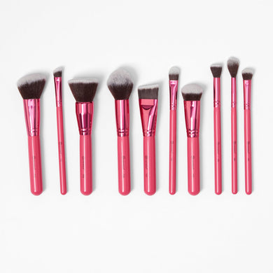 Pink Makeup Brush Pouch
