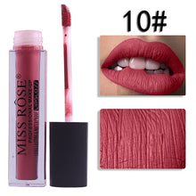 Load image into Gallery viewer, 10 Miss Rose Velvet Matte Lipgloss