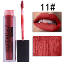 Load image into Gallery viewer, 11 Miss Rose Velvet Matte Lipgloss
