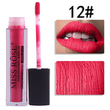 Load image into Gallery viewer, 12 Miss Rose Velvet Matte Lipgloss