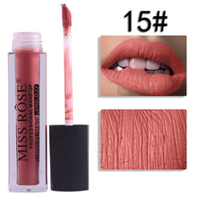 Load image into Gallery viewer, 15 Miss Rose Velvet Matte Lipgloss