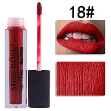 Load image into Gallery viewer, 18 Miss Rose Velvet Matte Lipgloss