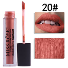 Load image into Gallery viewer, 20 Miss Rose Velvet Matte Lipgloss