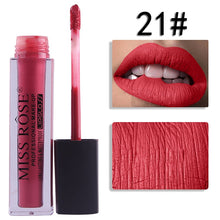 Load image into Gallery viewer, 21 Miss Rose Velvet Matte Lipgloss