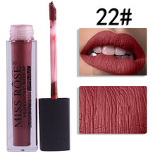 Load image into Gallery viewer, 22 Miss Rose Velvet Matte Lipgloss