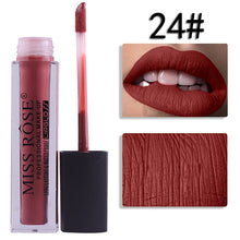 Load image into Gallery viewer, 24 Miss Rose Velvet Matte Lipgloss
