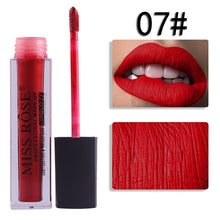 Load image into Gallery viewer, 07 Miss Rose Velvet Matte Lipgloss
