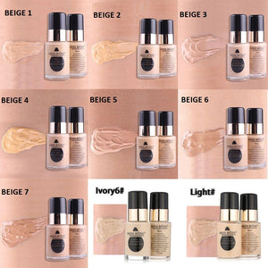 Miss Rose Purely Natural Liquid Foundation Sqin.pk