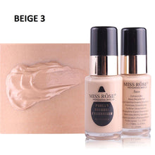 Load image into Gallery viewer, Miss Rose Purely Natural Liquid Foundation Sqin.pk Beige 3