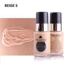 Load image into Gallery viewer, Miss Rose Purely Natural Liquid Foundation Sqin.pk Beige 5