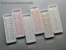 Load image into Gallery viewer, Miss Rose Stick On Nails (Pack of 24)