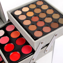 Load image into Gallery viewer, Miss Rose Professional Makeup Kit (With an Aluminum Box)