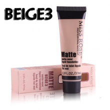Load image into Gallery viewer, Miss Rose Matte Wear Liquid Foundation BEIGE3