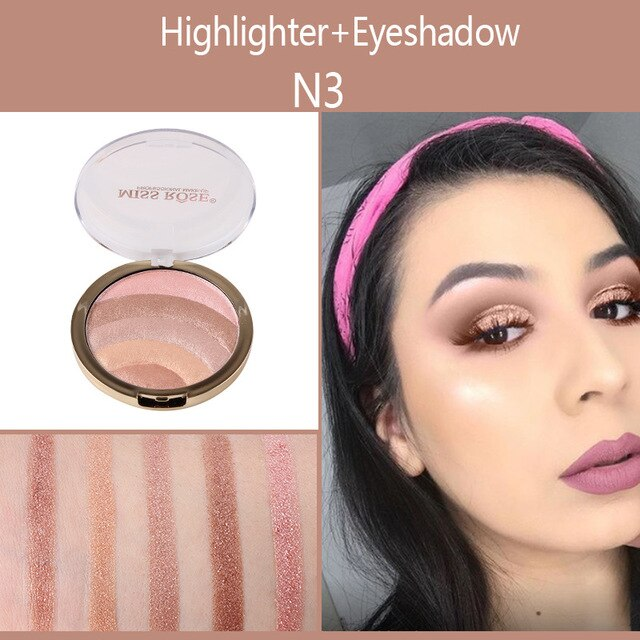 MISS ROSE 5 in 1 EyeShadow and Highlighter