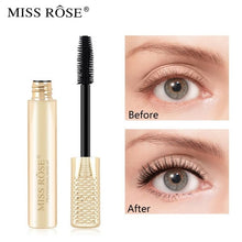 Load image into Gallery viewer, Miss Rose 4D Silk Black Mascara (Gold) Water Proof