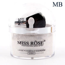 Load image into Gallery viewer, Miss Rose 2 in 1 Loose Powder & Eyeshadow