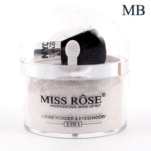 Miss Rose 2 in 1 Loose Powder & Eyeshadow