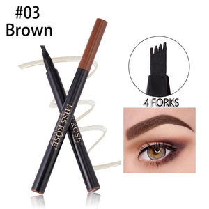 Brown 4 Forks Eyebrow Pen