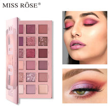 Load image into Gallery viewer, Miss Rose 18-color Eyeshadow Palette