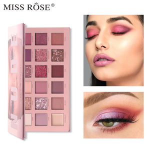 Miss Rose 18-color Eyeshadow Palette