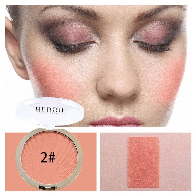 2 color Miss Rose Makeup Fashion Blush