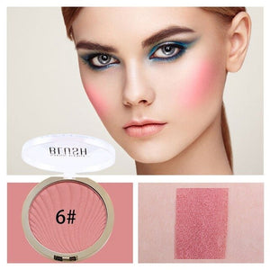 6 color Miss Rose Professional Fashion Blush