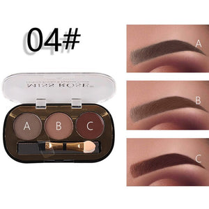 Miss Rose New 3 Color Eye Brow Powder