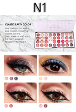 Load image into Gallery viewer, Miss Rose N1 Color Fashion 3D Eyeshadow Palette