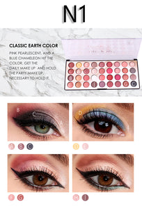 Miss Rose N1 Color Fashion 3D Eyeshadow Palette