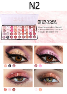 Miss Rose N2 Color Fashion 3D Eyeshadow Palette