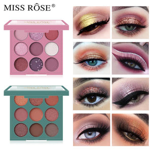 Miss Rose 9 Color Eyeshadow Palette