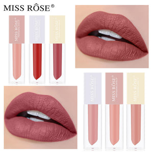 Miss Rose Set of 5 Velvet Matte Lip Gloss