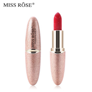 Miss Rose New Matte Lipstick (Gold Glitter)