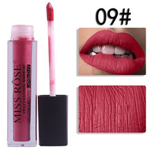 Load image into Gallery viewer, 09 Miss Rose Velvet Matte Lipgloss