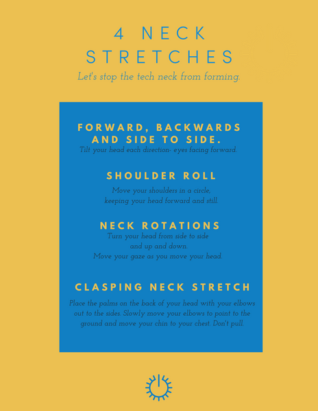 4 Stretches to Help Avoid Tech Neck
