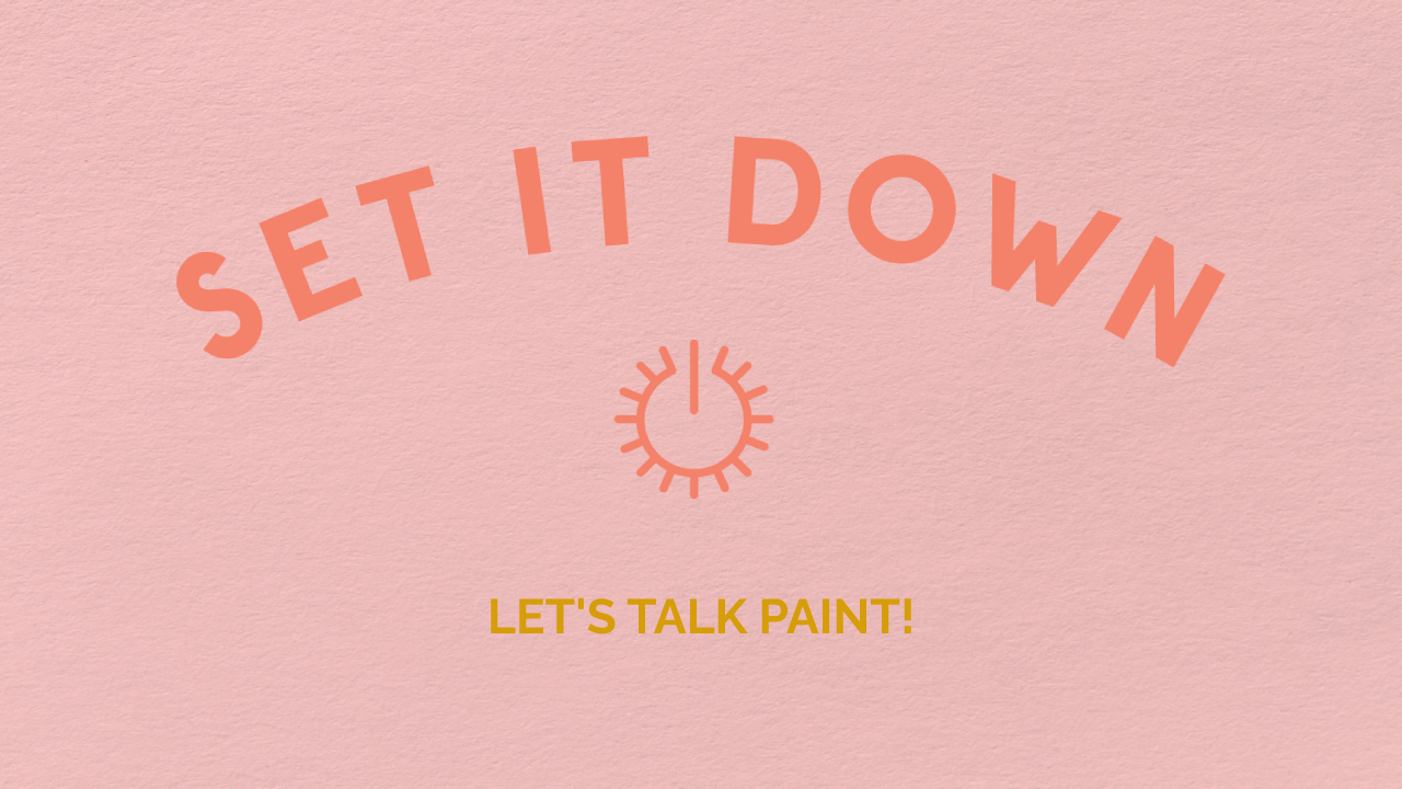 set it down - painting