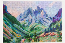 Load image into Gallery viewer, Lake Solitude Puzzle  500 Pieces