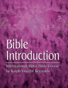Bible Introduction -  Alpha Bible Course (eBook)